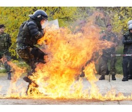 Police pyrophobia training
