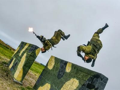 Фото учений морской пехоты
