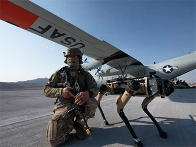 Собака-робот для военного применения