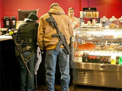 Оружие в США. Глава 2. Ношение оружия
