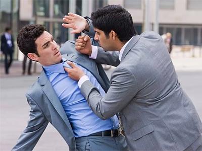 Worst self-defense position
