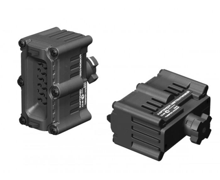 Flashbang cartridge for stun guns ZEUS and PHANTOM