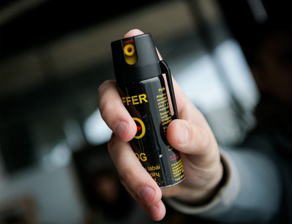 Pepper spray for self-defense